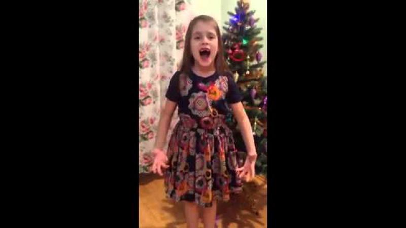 На конкурс Дети читают стихи для Лабиринт.ру. Бажена Павленко, 7 лет, г. Москва