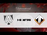 Alliance vs Escape #1 (bo2) | TI 6, Group A, 05.08.16