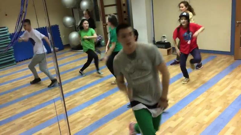 Choreo by Papa selezen ученики школы танца DANCE HALL, команда Dragon clan