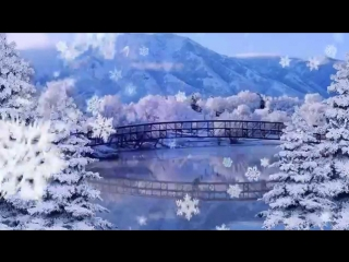 Футаж Зимний Сказка 4