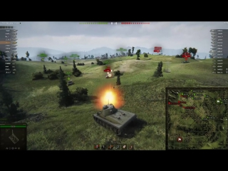 Нагибаторские Позиции World Of Tanks #16. АМХ 13 90 в домике на Зигфриде!