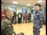 Кадеты 37-й школы Белгорода приняли торжественную присягу.