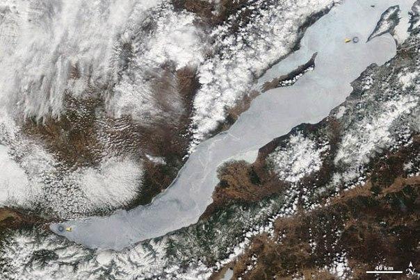 Загадочные круги Байкала