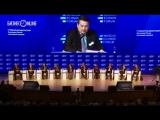 Посмотрите выступление главы Чкаловского сельского поселения, сорвавшего в среду овации на Московском экономическом форуме