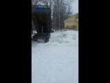 Свалка снега на пустыре во дворе домов 18/1 и 20/3 по ул. Правды.