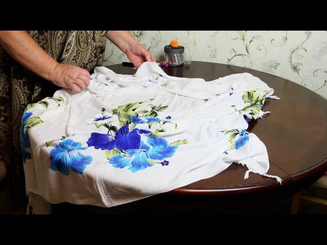 Платье разлетайка за 5 минут своими руками