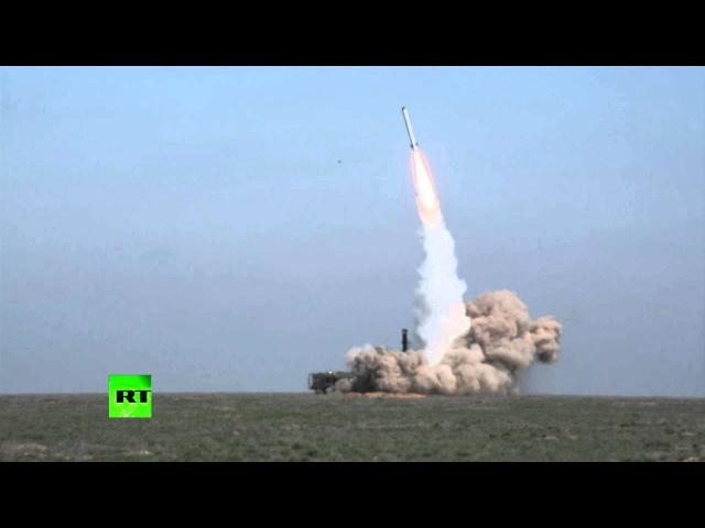 Боевой пуск крылатой ракеты «Искандер-М» по цели