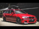 Super Low BMW E46 on ZP.SEVEN | Deep Concave in Hyper Black