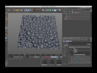 Reaction diffusion in Cinema 4d
