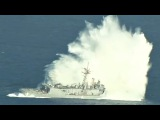 Sinking A Navy Frigate With Missiles And Torpedoes – SINKEX Sinking Exercise