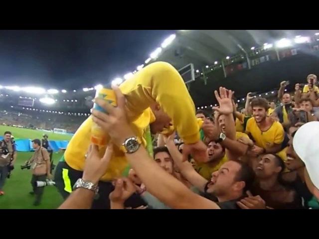 Rafael Alcântara comemora medalha Olimpiadas Rio 2016 - Video 360º