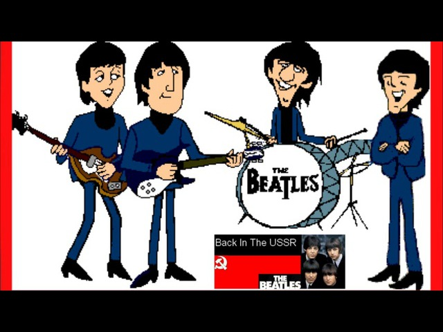 THE BEATLES - BACK IN THE U.S.S.R