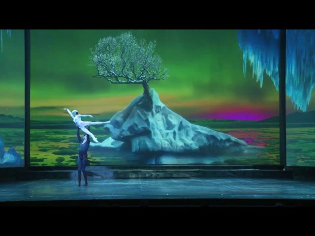 Бал сказок. Солисты - Марат Шемиунов, Ирина Перрен. Сцена из балета Ледяная дева