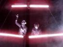Daft Punk Alive 2007 Denver - Television/Around the World Intro (Close Up)