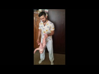 ДГ Динамическая гимнастика 6 месяцев Веселая гимнастика детский массаж в Подольске Василий Петраков