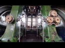 Запуск большого тройного парового двигателя Kempton Park Kempton Park Big Triple Steam Engine Starting.
