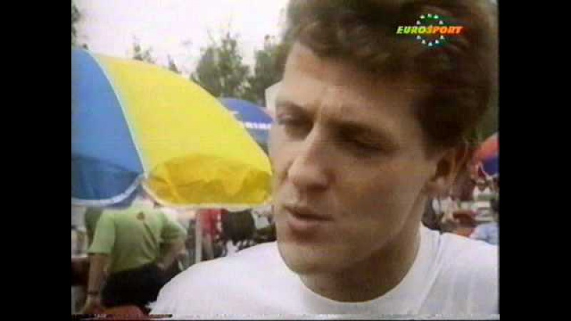 Michael Schumacher 1992 intervew I am not the new Senna