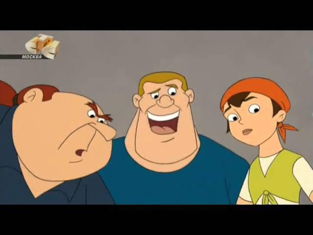 Флиппер и Лопака 3 сезон 23 Угадай кто придёт на обед