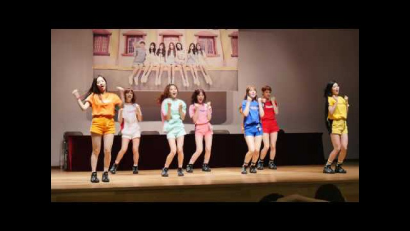 [FANCAM] 160710 SONAMOO - I Like U Too Much @ фансайн в Ёнсане