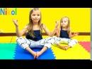 ЙОГА ЧЕЛЛЕНДЖ с Алисой Николь у кого Лучше Получится ? Yoga Challenge Alice Nicole