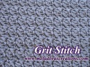 The Grit Stitch - Crochet Tutorial
