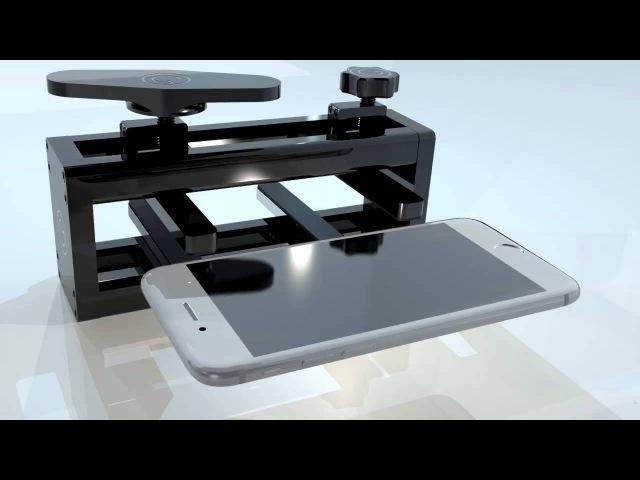 GTool Panelpress Straightens iPhone 6 Plus bentgate solved