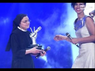 La voz Italia sor cristina GANA LA FINAL - the voice italy 2014 Sor Cristina Scuccia