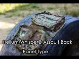 Комфортный Страйкбол: Обзор на Helium Whisper® Assault Back Panel Type 1 от Mayflower