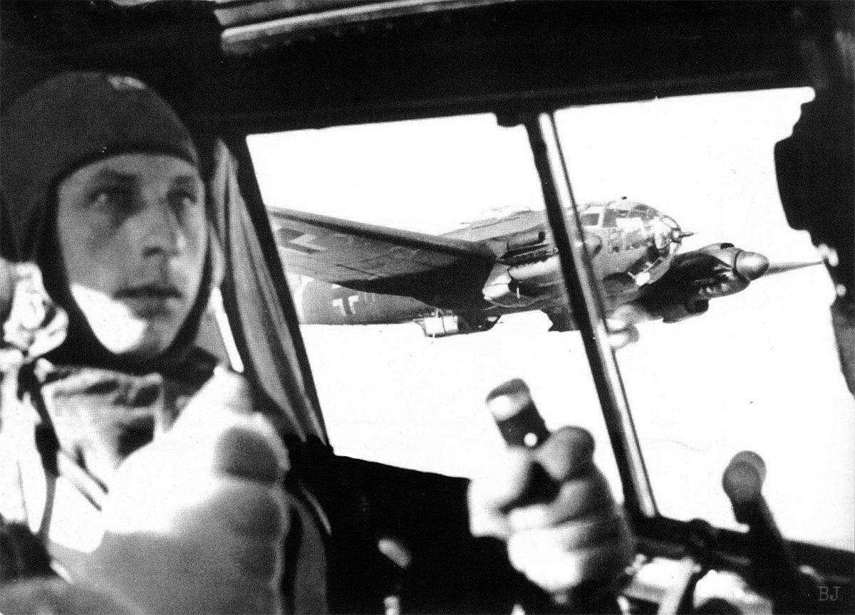 Heinkel He 111H 76-й авиационной бомбардировочной эскадры Люфтваффе