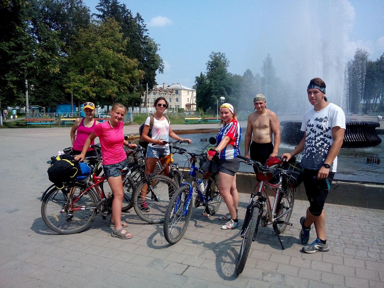 Члены молодежного совета Людиновского района вернулись из патриотического велопохода