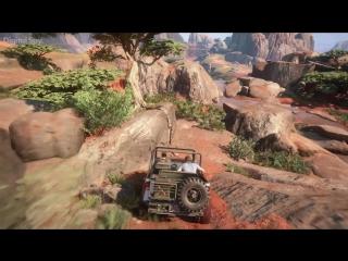 Uncharted 4: A Thiefs End - 18 минут НОВОГО геймплея