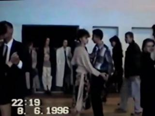 Дискотека 90-х Смотрите как танцевали диско и медляк