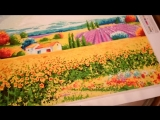 Картина Жан Поля Жаньячика . Лето в Провансе