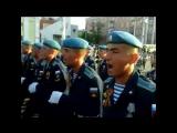 РВВДКУ. Возвращение в Рязань с парада на Красной площади. 2016г.