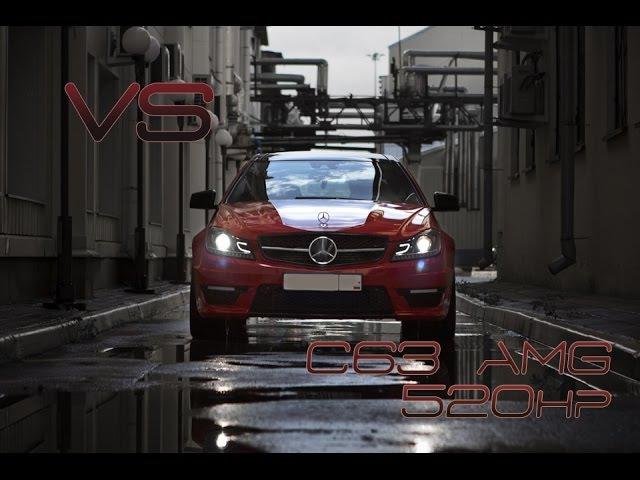 BMW 530d F10 ST3 DieselBoost (430hp) vs MB C63 AMG ST1 (520hp)