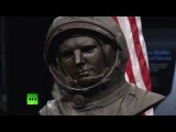 Музею авиации и космонавтики в США подарили бронзовый бюст Гагарина работы украинского скульптора