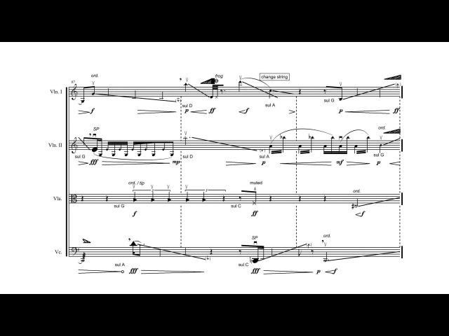 Panayiotis Kokoras — Holophony [w/ score]