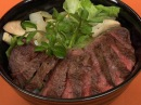 Beef Steak Donburi | Cooking with Dog
