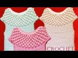 Blusa tejida a crochet para el verano - Learn Knitting easy crochet