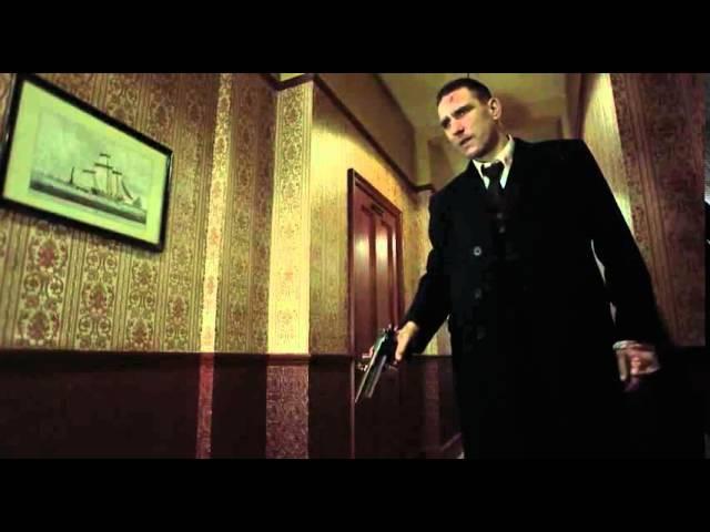 Отрывок из фильма Большой куш Борис хрен попадешь и Тони пуля в зубах ►filmCU