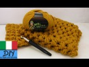 Come cucire ad uncinetto una sciarpa loop Schal istruzioni per principianti sciarpa doppio giro