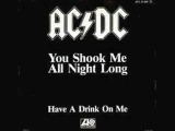 ACDC - You Shook Me All Night Long Lyrics In Description