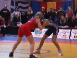 Female Wrestling Klippan Lady Open 2010 Final 1