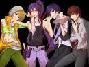 Kamui Gakupo, KAITO, Kagamine Len, Hiyama Kiyoteru - Indomitable Power!! (rus sub)