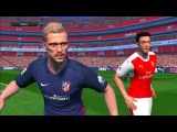 Pes 2017 First Gameplay E3 2016 Official | Arsenal vs Atletico Madrid