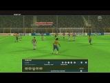 Роналдиньо в ворота Буффона (редкий гол)