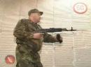Оспищев С.В. Демонстрация стрельбы из автомата АК.