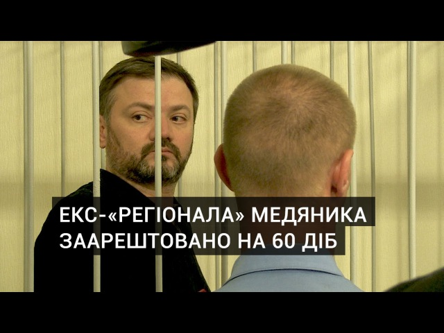 Суд заарештував екс-«регіонала» Медяника на 60 днів