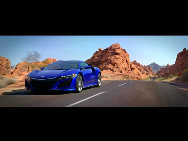 The 2017 Acura NSX Designed, Developed, and Manufactured in the USA