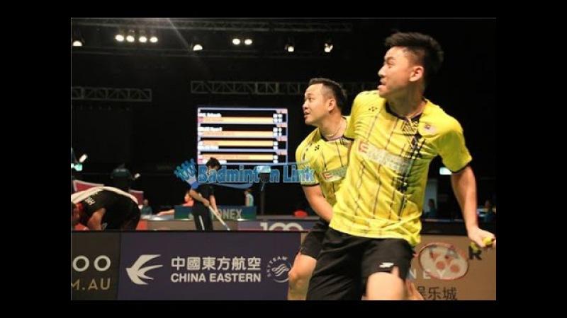 VietNam Open 2016 MD SF - Koo Kien Keat / Tan Boon Heong (MAS) vs Lim Khim Wah / Ong Jian Guo (MAS)